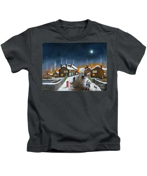 Black Country Winter Kids T-Shirt