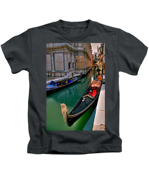 Black Gondola Kids T-Shirt