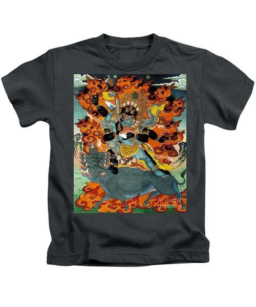 Black Hayagriva Kids T-Shirt