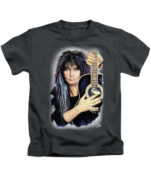 Blackie Lawless - Wasp Kids T-Shirt