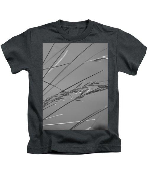 Blades Of Gray Kids T-Shirt