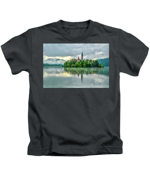 Bled At Sunrise Kids T-Shirt