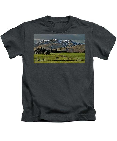 Blencathra Mountain, Lake District Kids T-Shirt