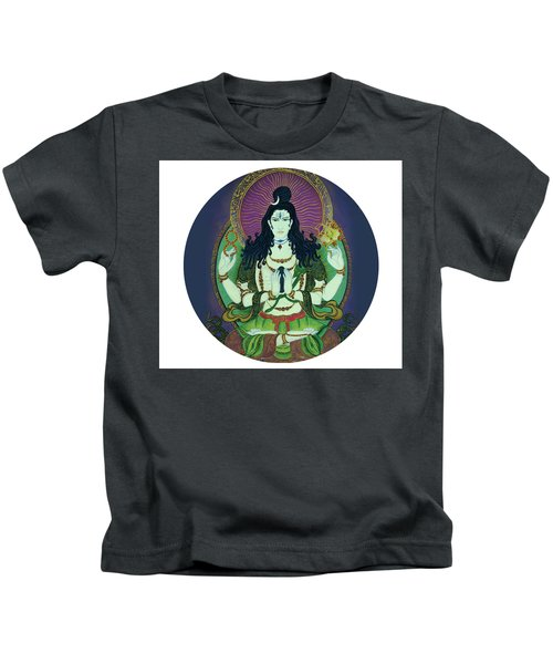 Blessing Shiva Kids T-Shirt