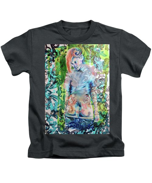 Blond Boy Version 3 Kids T-Shirt