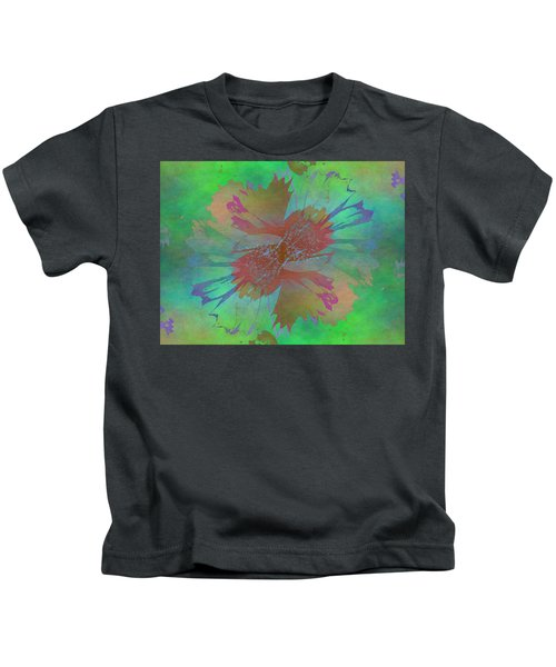 Blooms In The Mist Kids T-Shirt