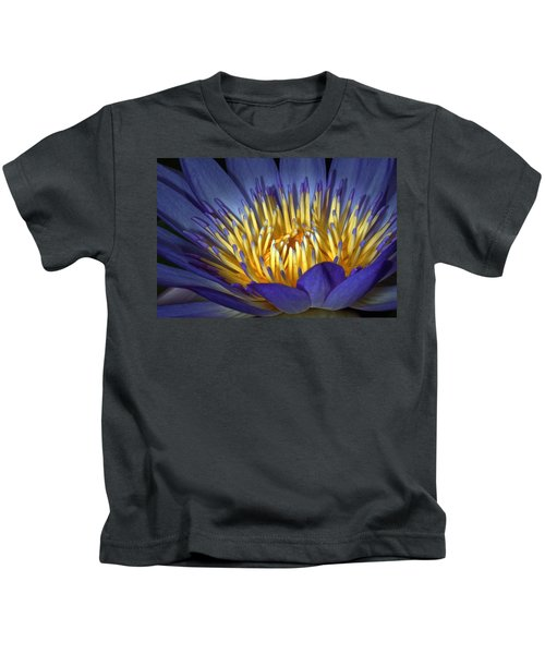 Blue And Yellow Kids T-Shirt