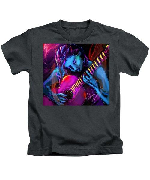 Blue Heart Kids T-Shirt