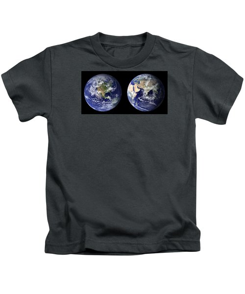 Blue Marble Kids T-Shirt