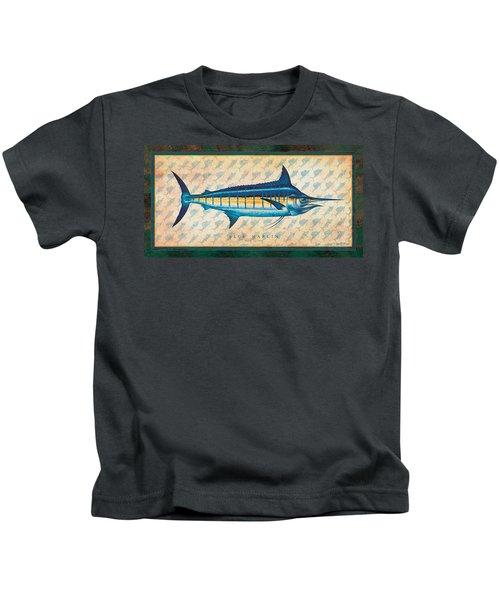 Blue Marlin Kids T-Shirt