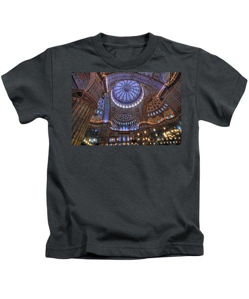 Blue Mosque Kids T-Shirt