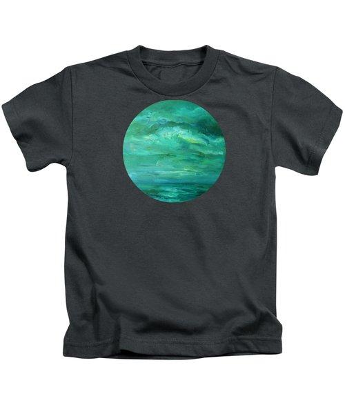 Blue Mystery Kids T-Shirt
