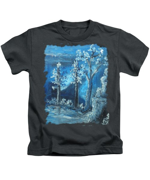 Blue Nature Kids T-Shirt