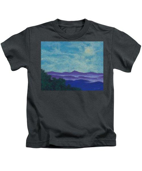 Blue Ridges Mist 1 Kids T-Shirt