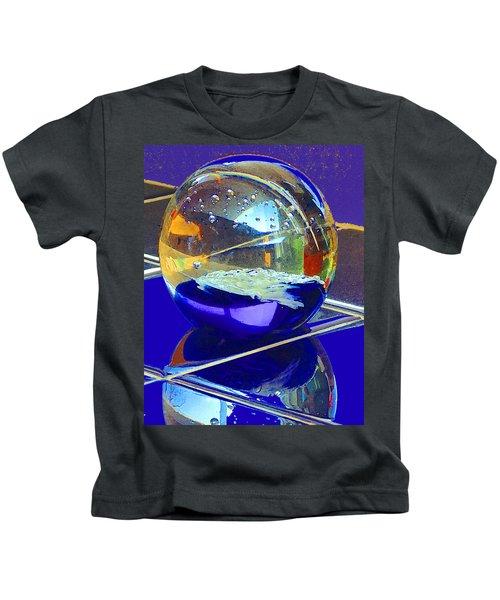 Blue Sphere Kids T-Shirt