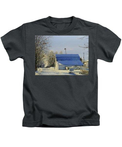 Blue Sunday Kids T-Shirt