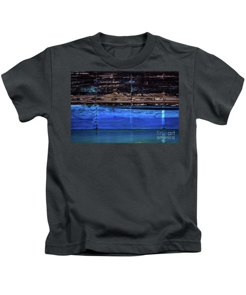 Blue Tanker Kids T-Shirt