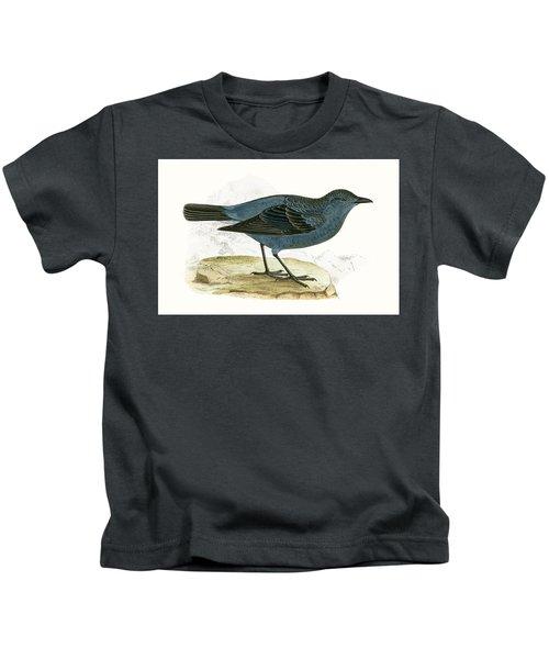 Blue Thrush Kids T-Shirt