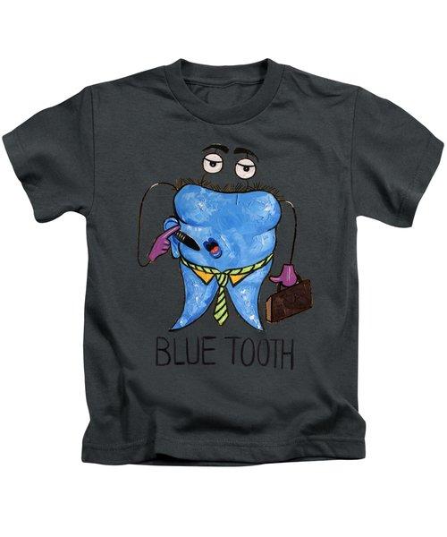 Blue Tooth Kids T-Shirt