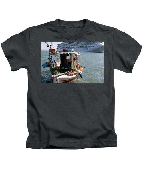 Boat And Ship Kids T-Shirt