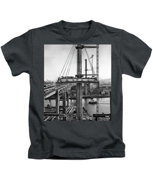 Boat Under Desmond Kids T-Shirt