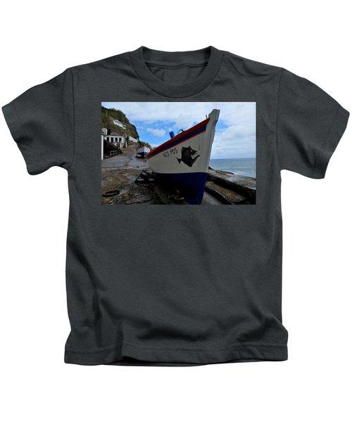 Boats,fishing-26 Kids T-Shirt
