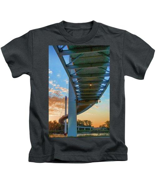 Bob Kerry Bridge At Sunrise-2 Kids T-Shirt