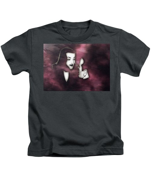 Bogart And Bacall Kids T-Shirt