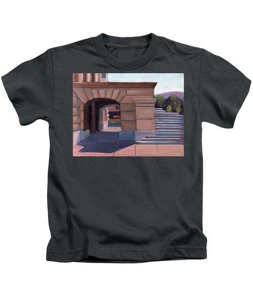 Boise Capitol Building 04 Kids T-Shirt