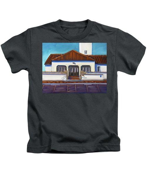 Boise Train Depot Kids T-Shirt