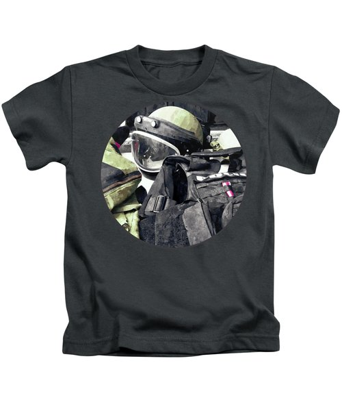 Bomb Squad Uniform Kids T-Shirt