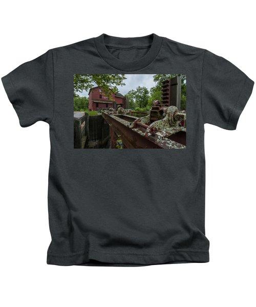 Bonneyville Mills Gears Kids T-Shirt