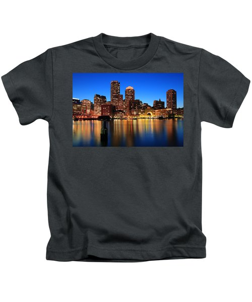 Boston Aglow Kids T-Shirt