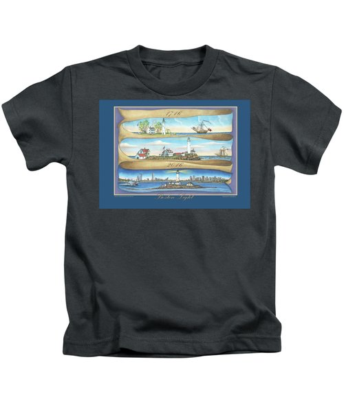 Boston Light 1716-2016 Kids T-Shirt