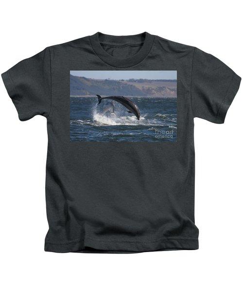 Bottlenose Dolphins - Scotland  #25 Kids T-Shirt
