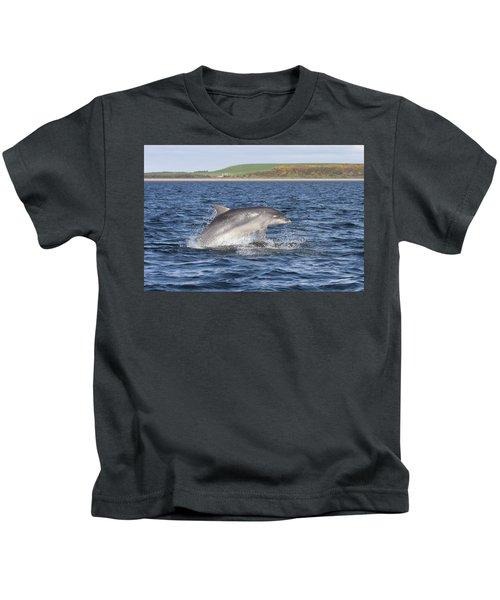 Bottlenose Dolphin - Scotland  #32 Kids T-Shirt