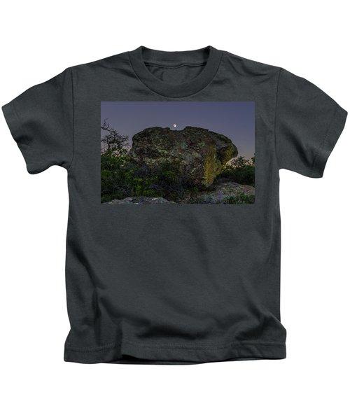 Boulder Moonrise Kids T-Shirt