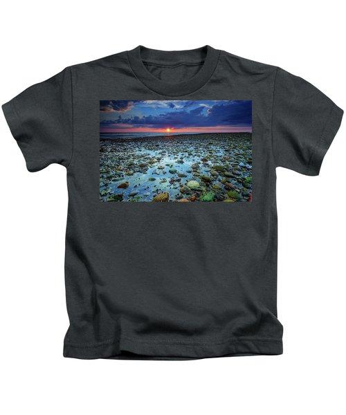 Bound Brook Sunset IIi Kids T-Shirt