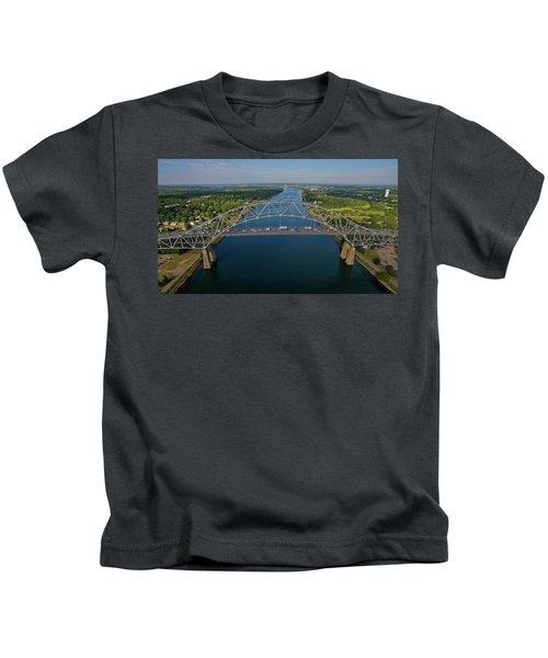 Bourne Bridge, Ma Kids T-Shirt