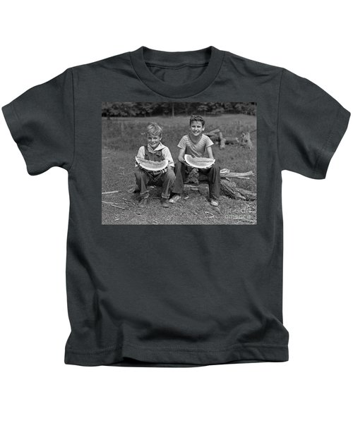 Boys Eating Watermelons, C.1940s Kids T-Shirt