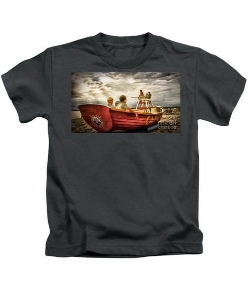 Boys Of Summer Cape May New Jersey Kids T-Shirt