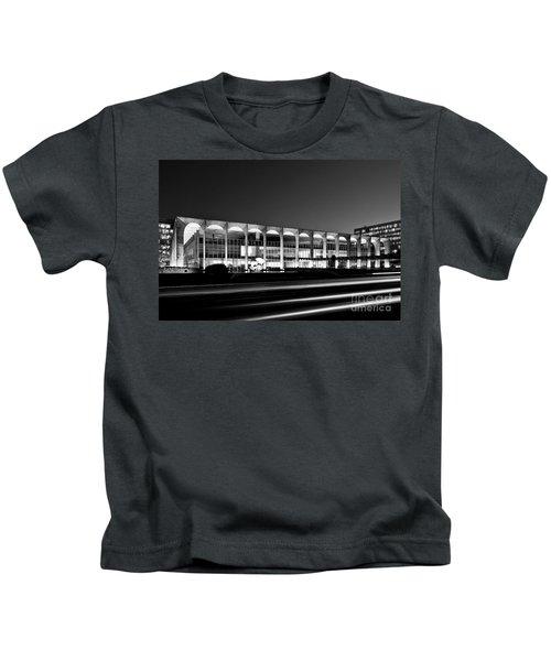 Brasilia - Itamaraty Palace - Black And White Kids T-Shirt