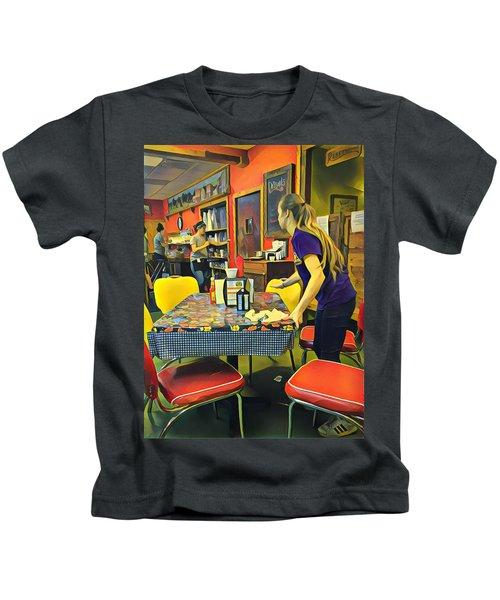 Breakfast In Wimberley Kids T-Shirt