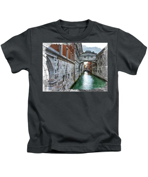 Bridge Of Sighs Kids T-Shirt