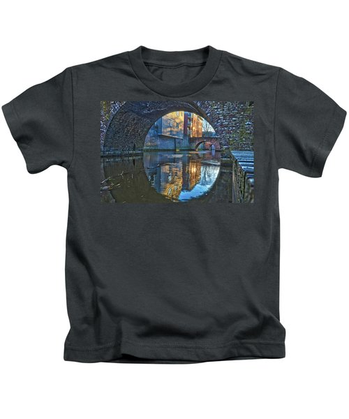 Bridges Across Binnendieze In Den Bosch Kids T-Shirt