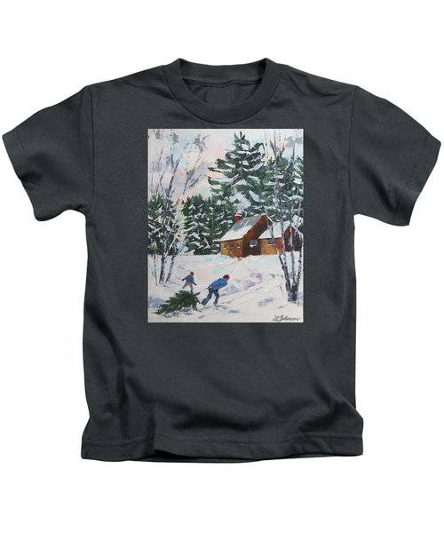 Bringing In The Tree Kids T-Shirt