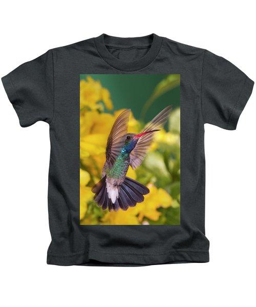 Broad-bill Pose Kids T-Shirt