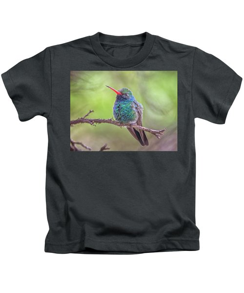 Broad-billed Hummingbird 3652 Kids T-Shirt