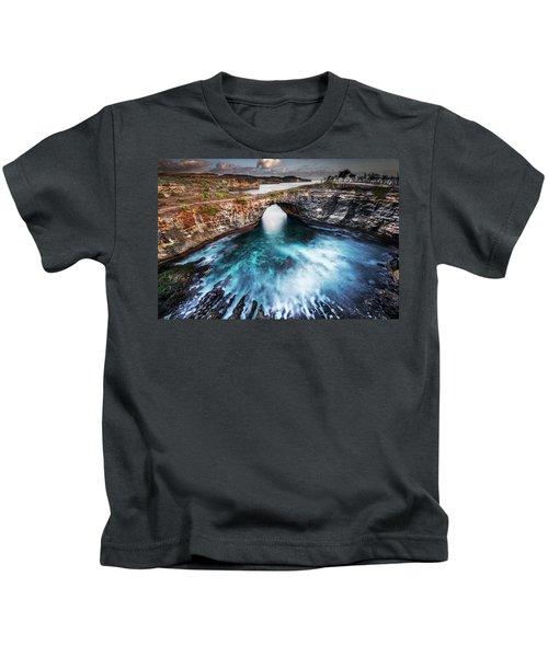 Broken Beach, Bali Kids T-Shirt