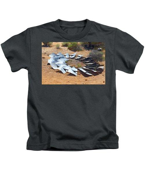 Broken Wheel Of Fortune Kids T-Shirt